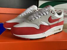 Nike Air Max 1 OG Red Anniversary UK10 W/Receipt
