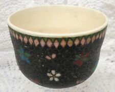 Beautiful Japanese Cloisonne Pottery Cup
