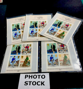 5 Great Britain 1979 874a Second Miniature Stamp Sheet 1980 MNH MAKE OFFER 430