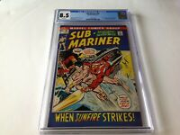 SUB-MARINER 52 CGC 8.5 WHITE PAGES SUNFIRE NAMORITA DRAGON LORD MARVEL COMICS