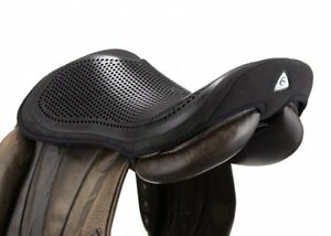 Acavallo GEL OUT Seat Saver Saddle Security Reduce Concussion Black/Brown 10mm