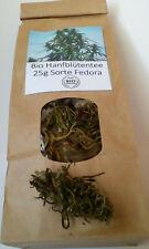 25g Bio Hanfblüten-Tee Fedora 4,2%, 100% Natur Produkt.