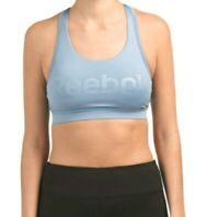 Womens Reebok Limitless Sports Bra Size XSmall Light Blue
