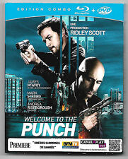BLU-RAY + DVD / WELCOME TO THE PUNCH - RIDLEY SCOTT / EDITION COMBO
