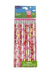 Peppa Pig Pencils School Stationary Supplies Party Favors Gifts 12 Pieces