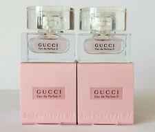 GUCCI Eau de Parfum II 2 5 ml EdP (2 X 5 ml Miniature) OVP/BOX Rare