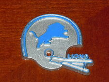 DETROIT LIONS Vintage Old NFL RUBBER Football FRIDGE MAGNET Standings Board