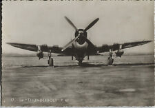 Postcard 1469 - Aircraft/Aviation Real Photo Thunderbolt P-47