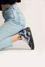 VANS  SK8-HI Reissue Cap Skate Shoes Women's Size 8.5 Florals Brocade