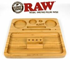 RAW Smoking Papers Bamboo Filling Collectors Rolling Tray