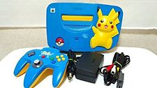 Nintendo 64 Pikachu Blue Console N64 Japan *EXCELLENT CONDITION - WORKING*