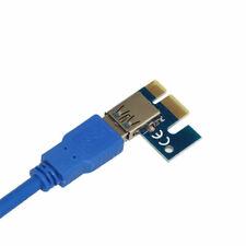 USB 3.0 PCI-E1 PCI-Express x1 bis 16X prolunga rizer, cavo usb