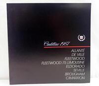 1987 Cadillac Full Line Sales Brochure