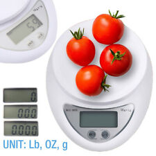 Digital Kitchen Food Cooking Scale Weigh in Pounds, Grams, Ounces, and KG USA