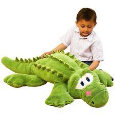 Corey l'amichevole coccodrillo verde - 130cm Giocattolo Peluche-enorme Teddy-Nuovissimo