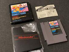 Donkey Kong - NES Spiel - CIB OVP - PAL B - Bienengräber Nintendo 📺🕹