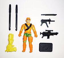 GI JOE CLUTCH Vintage Action Figure Mega Marines 97% COMPLETE 3 3/4 C9+ v3 1993