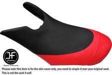 BLACK B RED CUSTOM FOR SEADOO 02-06 GTX DI 4-TEC FRONT VINYL SEAT COVER + STRAP