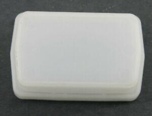 """Flash Diffuser - ~1 3/8 x 2 5/8"""" Attachment - White - USED C1134"""