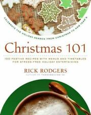Christmas 101 100 festive recipes menus timetables Rick Rodgers Cookbook