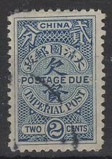 1904 China POSTAGE DUE Sc#J9 USED FINE