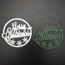 merry christmas metal cutting dies stencil scrapbook album paper embossing FG