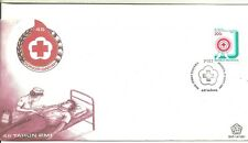 cover topical Indonesia Red Cross 46 year anniversary Fdc medicine