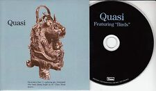 QUASI Featuring BIrds 2016 UK 16-track promo CD Sleater Kinney