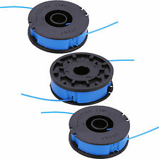 3 x ALM Trimmer Spool & Line for Florabest FRT430 FRT430/10 FRT500/8 Strimmers