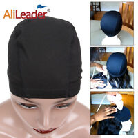 10PC Dome Wig Caps For Making Wigs Elastic Breathable Nylon Swimming Weaving Cap