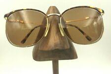 518a4280c7 Vintage Tura 230 Tortuga Oro Marcos Ovalados Browline Anteojos Gafas de sol  Japón