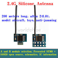 XY-WB 2.54mm Pin 2.4G Wireless Transceiver Module Low Power Replace NRF24L01+