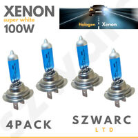 4x H7 477 Xenon 499 100w Xenon HID White Headlight Bulbs Main Beam Fog light 12v