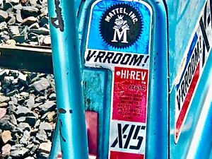 Original mattel X15 Varoom Tricycle