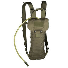 Mil-Tec Laser Cut MOLLE Military Army Tactical EDC Hydration Pack Pouch Green