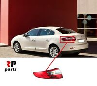 Per Renault Fluence 10 - 17 Esterno Posteriore Coda Faro Rosso/Bianco SX E / S