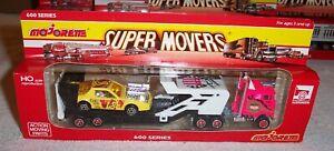 Majorette Super Movers 600 Series #615 Semi-Truck Drag Racer Hauler MIB C1993