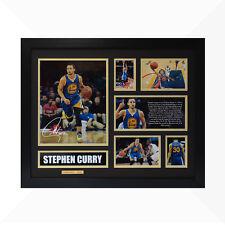 Stephen Curry Signed & Framed Memorabilia - Black/Gold Limited Edition