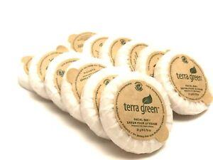 Lot of 12 Terra Green facial Soap bar travel Size 0.75 oz.   100% Biodegradable