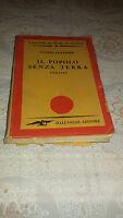 IL POPOLO SENZA TERRA ROMANZO DI LUDWIG LEWISOHN DALL'OGLIO 1947 NARRATIVA LIBRO