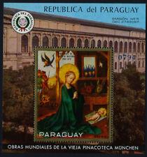 Paraguay 1275 MNH Art, Madonna & Child