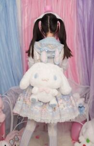 Cute Cinnamoroll Plush Doll Backpack Lolita Crossbody Messenger Shoulder Bag