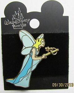 Disney Blue Fairy with Dangling Star Wand  Pin