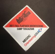 Camp Tuscazoar Fall Flapjack Flip 2011 Orienteering Patch
