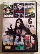 Contagious Outbreaks - 6 Films (2 Prev. Viewed Dvds, 2012) Htf