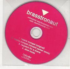 (EJ237) Brasstronaut, Hearts Trompet - 2011 DJ CD