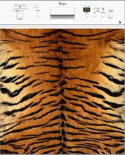 Adhesivo lavavajillas decoración cocina Piel de tigre 60x60cm ref 060