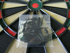 """25 NEW BLACK DART TIPS for All Electronic Dart Boards 1/4"""" Thread"""