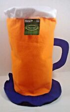 Beer Stein Felt Barbecue Chef's Hat  Costume Tailgate Party Great Gift  New