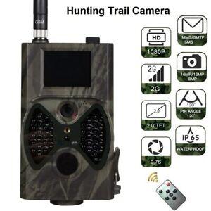 Trail Camera HC-300M Night Vision Hunting Camera 2G MMS Cam Photo Traps Wildlife